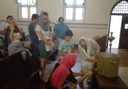Богоявление в приходе Св. Николая Сербского в Сантьяго, Чили