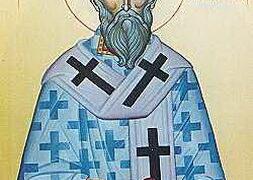 San Ticon, obispo de Amatos en Chipre