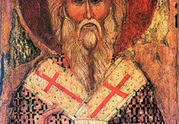 San Alejandro Patriarca de Constantinopla