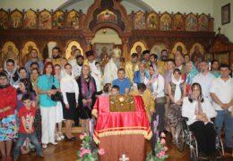 У Архијерејском подворју Светог Саве у Екатеринбургу (Русија), одслужен помен митрополиту Амфилохију