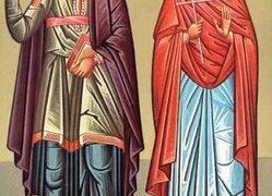 Mártires Galación y su esposa Episteme
