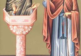 Свети преподобни Данило Столпник