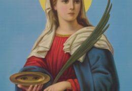 Santa Lucia, Virgen y Mártir