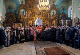 Прощальное богослужение епископа Леонида на Алапаевской земле