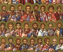 Света четрдесет и два мученика из Амореје