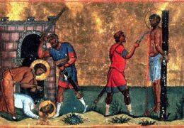 Hiermártires Trófimo y Talo, de Laodicea