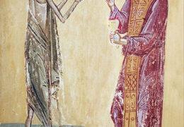 Прп. Зосимы, обретшего прп. Марию Египетскую в пустыне Иорданской