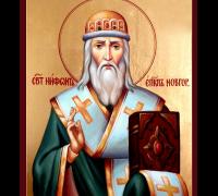 Святитель Нифонт Печерский, епископ Новгородский