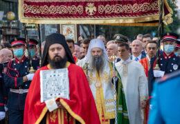 В Белграде прошел Вознесенский крестный ход