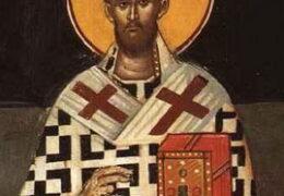 Свети свештеномученик Тимотеј, епископ бруски