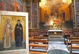 La tumba y las reliquias de San Cirilo, el apóstol de los eslavos