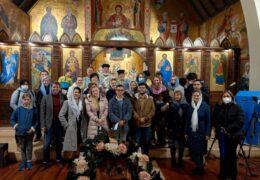Celebración de la Gran Fiesta de la Asunción de la Santísima Virgen María en Santiago (Chile)