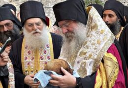 На Афоне обрели честные останки старца Иосифа Ватопедского